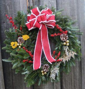 Hand-made wreaths