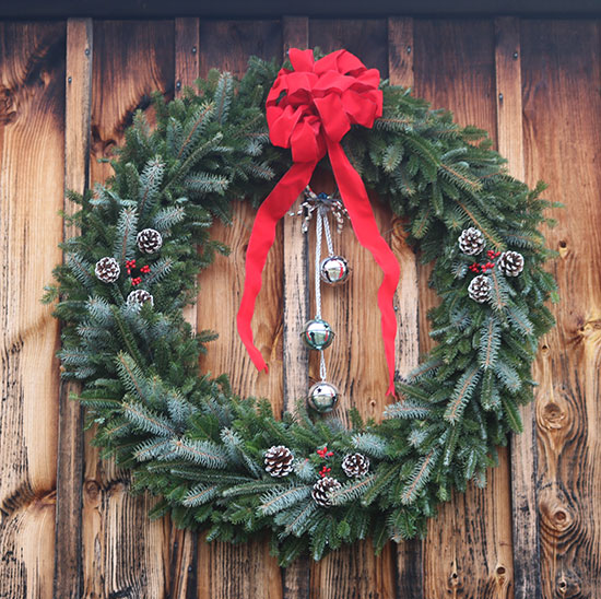 Extra large wreaths