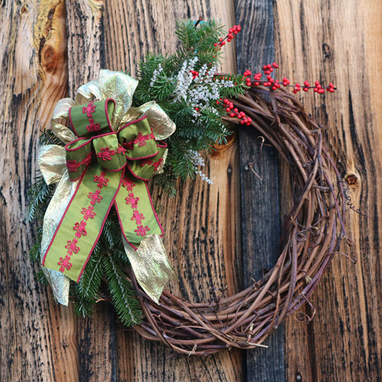 Wreaths of vine