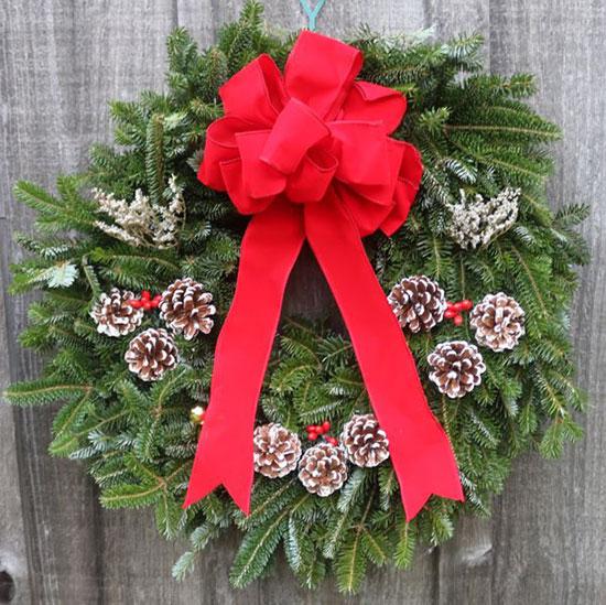 Single-sided wreaths