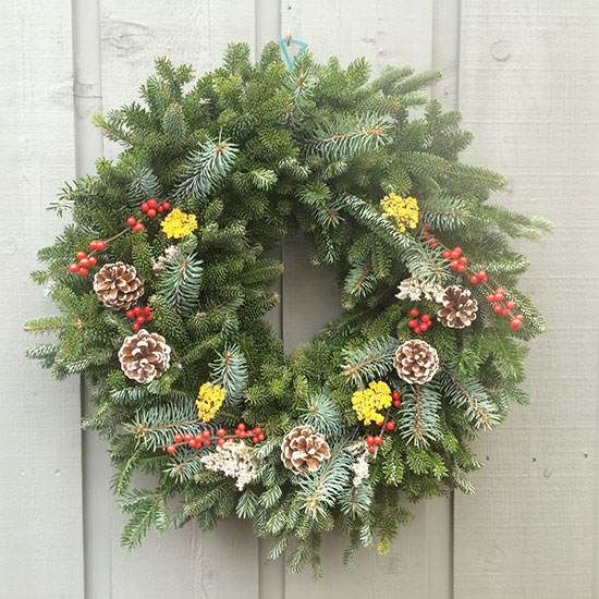 Wreaths with no bow